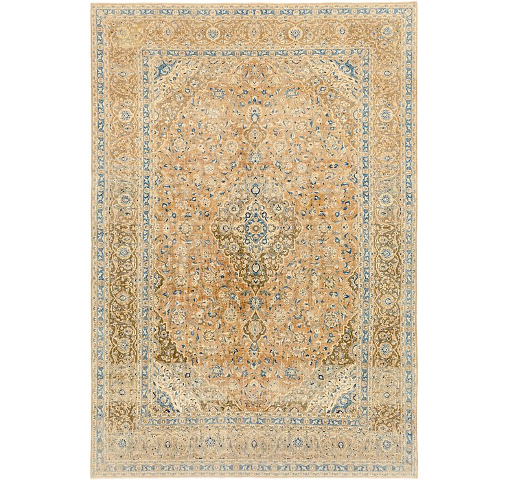 9' 10 x 14' Ultra Vintage Persian Rug