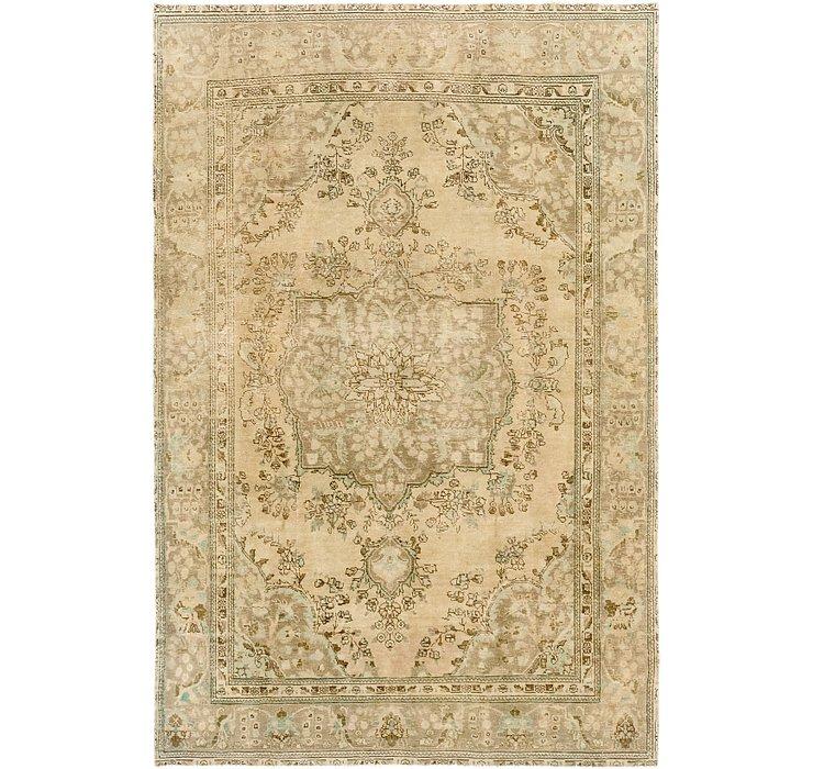 6' 5 x 9' 7 Ultra Vintage Persian Rug