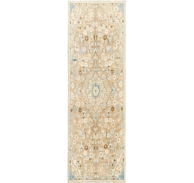 3' x 9' 3 Ultra Vintage Persian R...