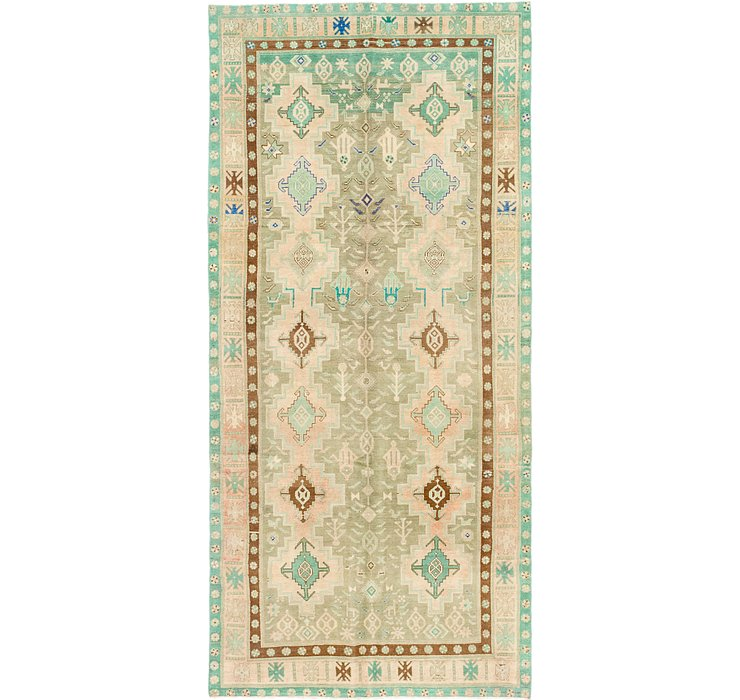 5' x 11' 3 Ultra Vintage Persian R...