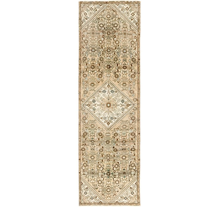 2' 9 x 9' 5 Ultra Vintage Persian R...
