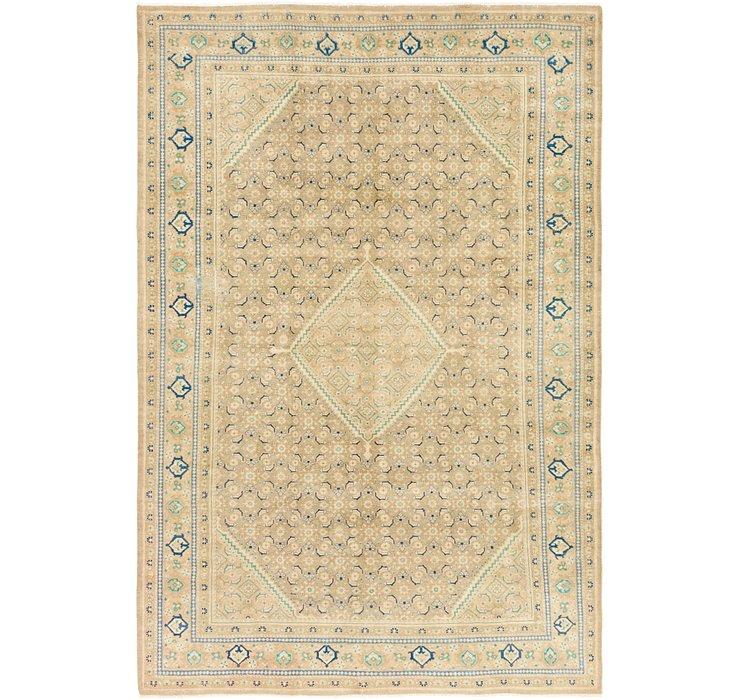 7' 2 x 10' 9 Ultra Vintage Persian Rug