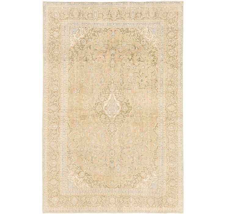 9' 6 x 14' 2 Ultra Vintage Persian Rug