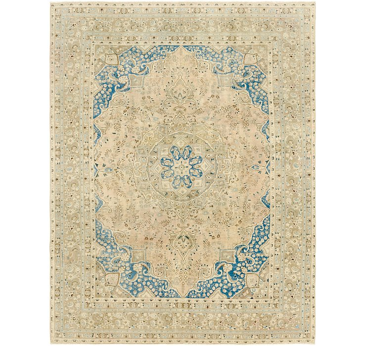 9' 8 x 12' 7 Ultra Vintage Persian Rug