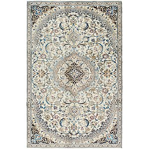 Link to 178cm x 280cm Nain Persian Rug item page