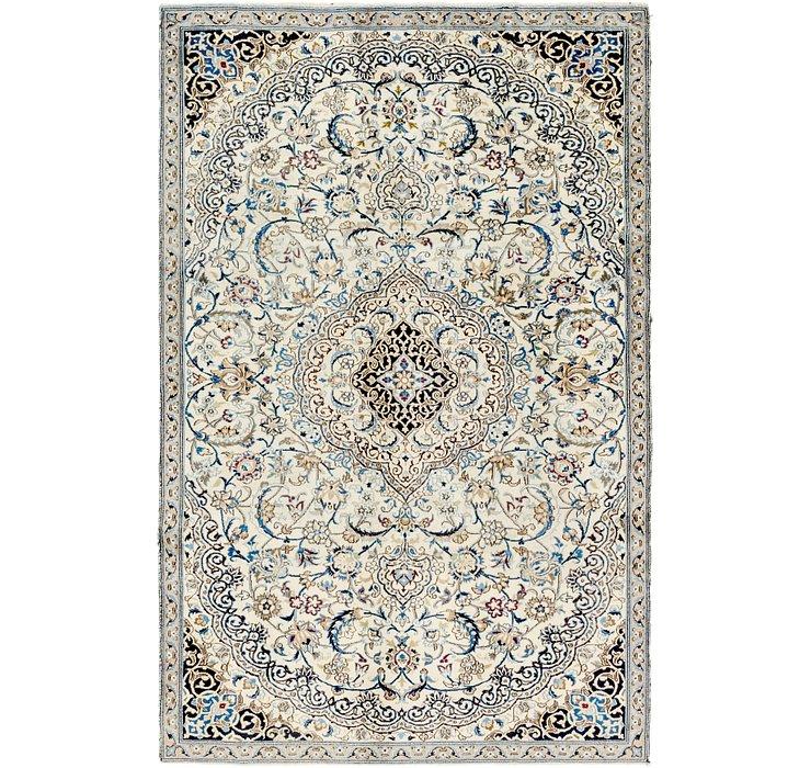 5' 10 x 9' 2 Nain Persian Rug