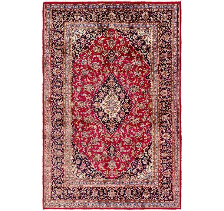 6' 9 x 10' Mashad Persian Rug