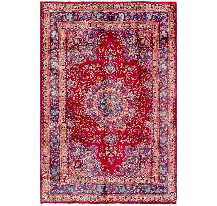 190cm x 297cm Mashad Persian Rug