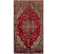 Link to 163cm x 305cm Tabriz Persian Rug