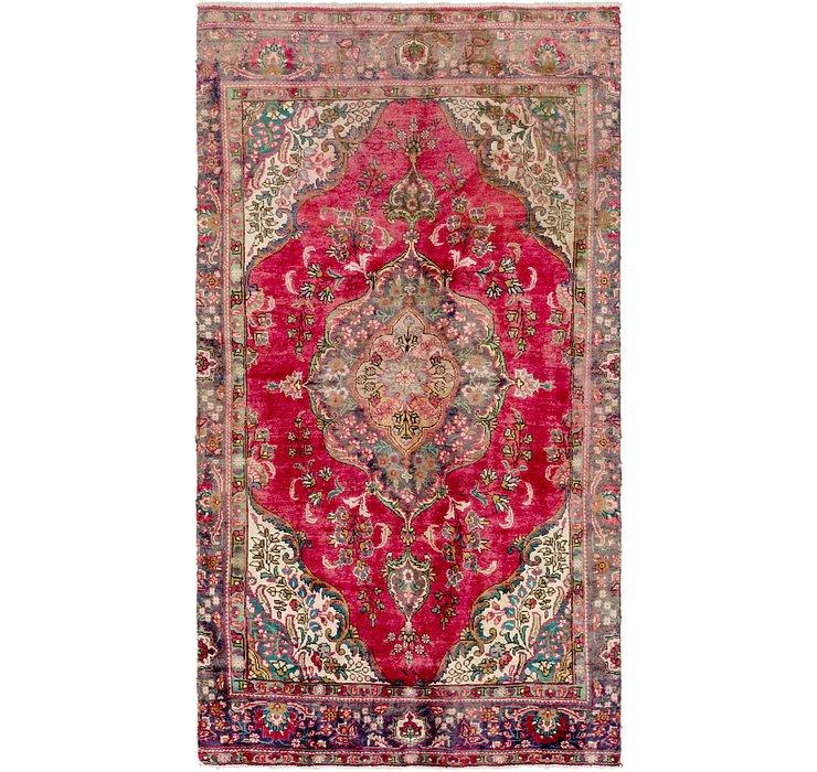 5' 4 x 10' Tabriz Persian Rug