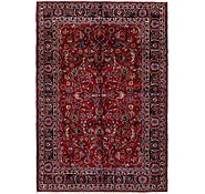 Link to 6' 6 x 9' 5 Mashad Persian Rug