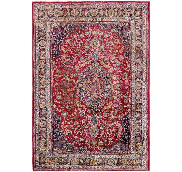 7' 10 x 11' 10 Mashad Persian Rug