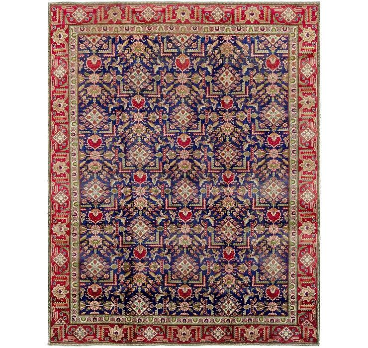 9' 7 x 12' 2 Tabriz Persian Rug