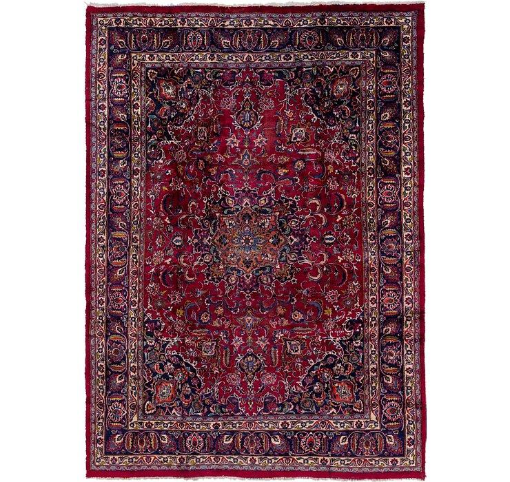 8' x 11' 5 Mashad Persian Rug