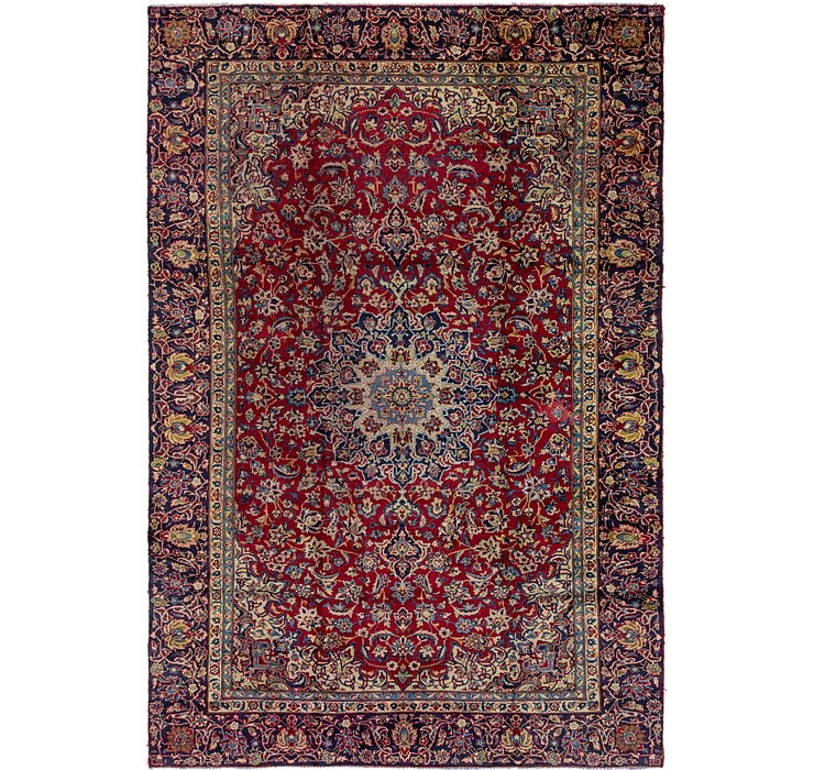 8' 9 x 13' Isfahan Persian Rug