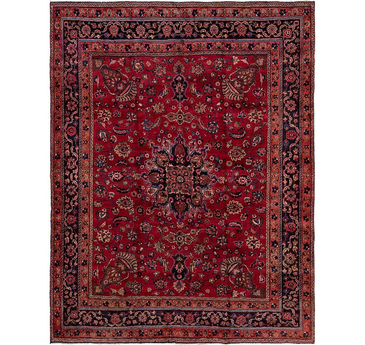 10' x 13' Mashad Persian Rug