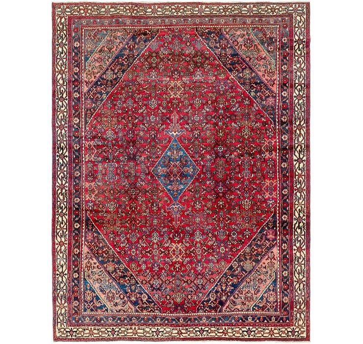 9' 2 x 12' 2 Hamedan Persian Rug