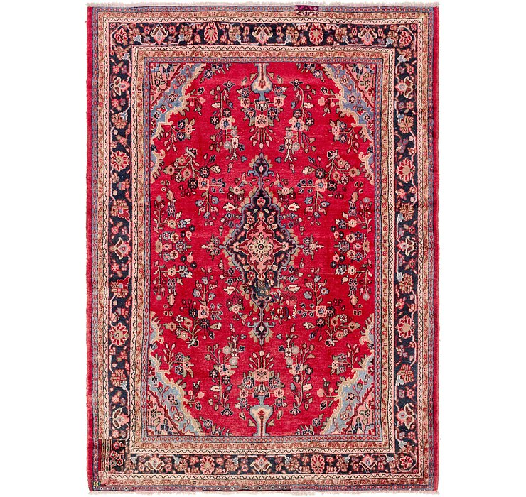 8' 7 x 12' Hamedan Persian Rug