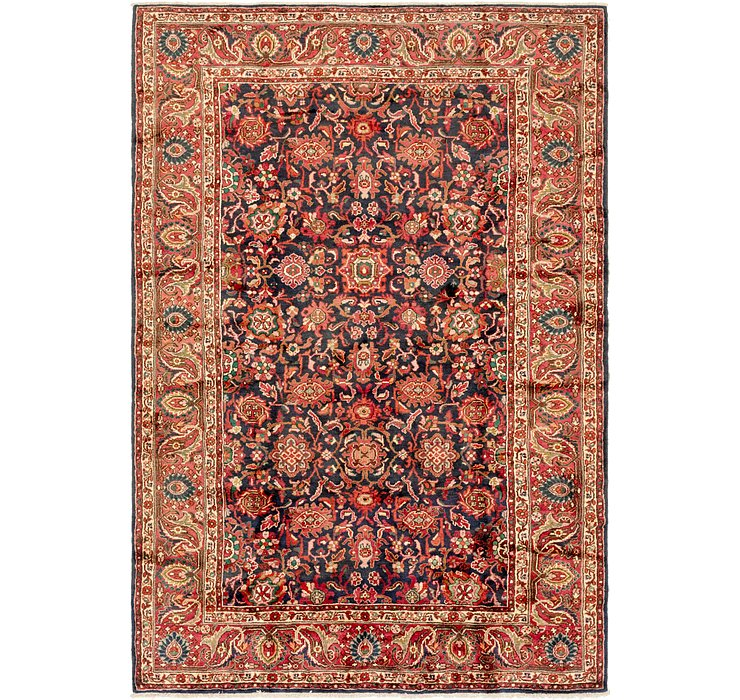 7' 4 x 10' 7 Hamedan Persian Rug