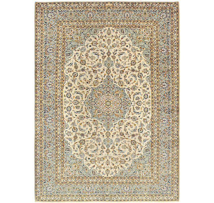 8' 9 x 12' 3 Kashan Persian Rug