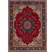 Link to 9' 6 x 13' Tabriz Persian Rug