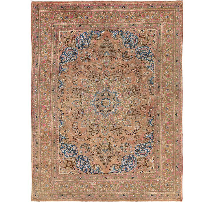 9' 5 x 12' 7 Mashad Persian Rug