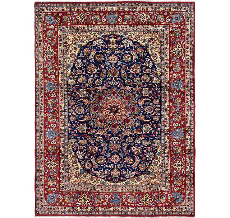 8' 6 x 11' 6 Isfahan Persian Rug