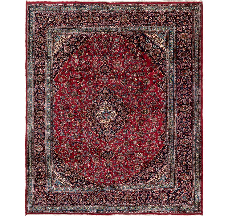 292cm x 353cm Mashad Persian Rug