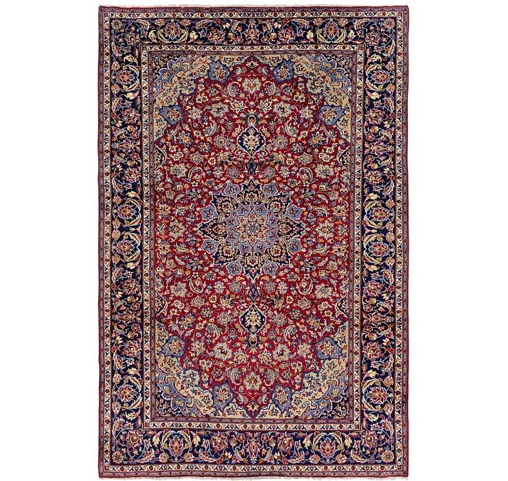 7' 9 x 11' 8 Isfahan Persian Rug