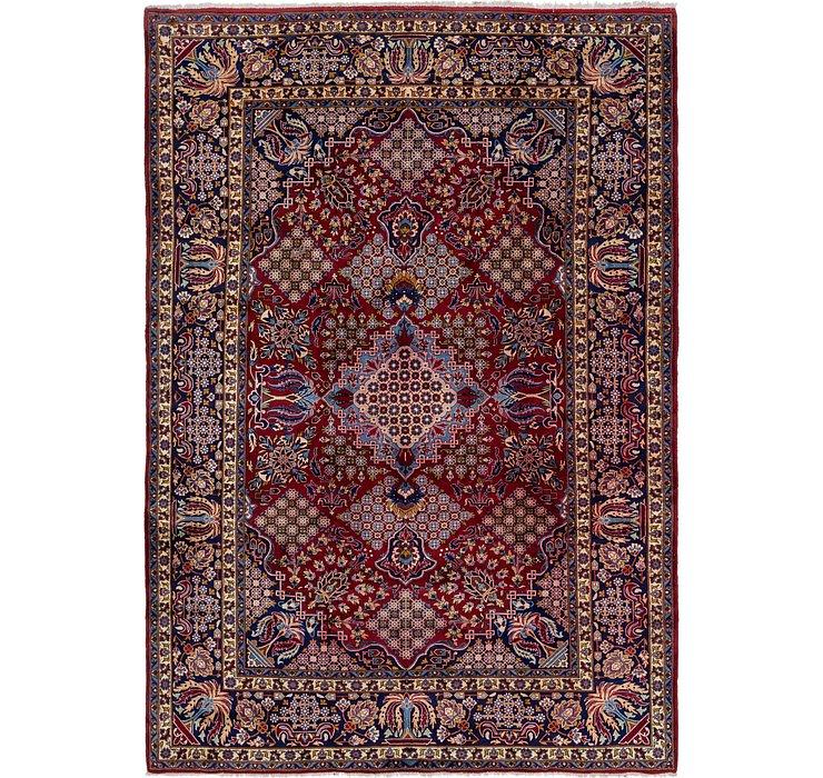 9' 9 x 14' Isfahan Persian Rug