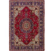 Link to 8' 2 x 12' Tabriz Persian Rug