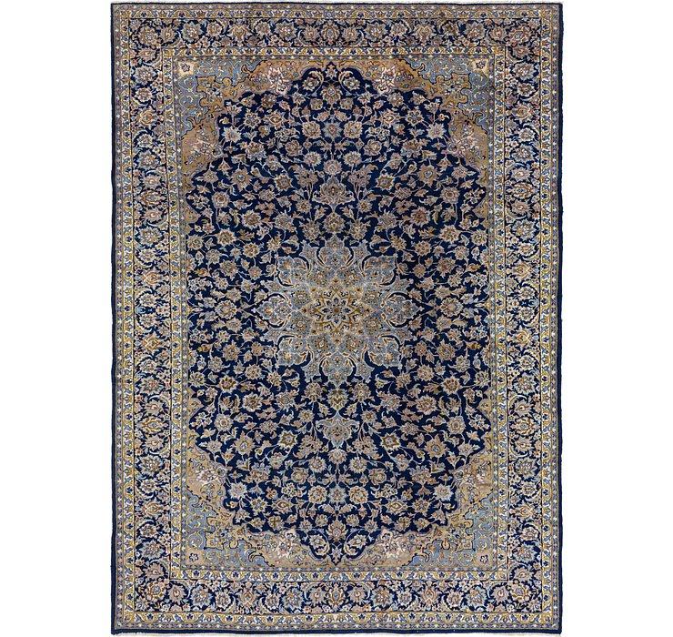 9' 10 x 14' Kashan Persian Rug