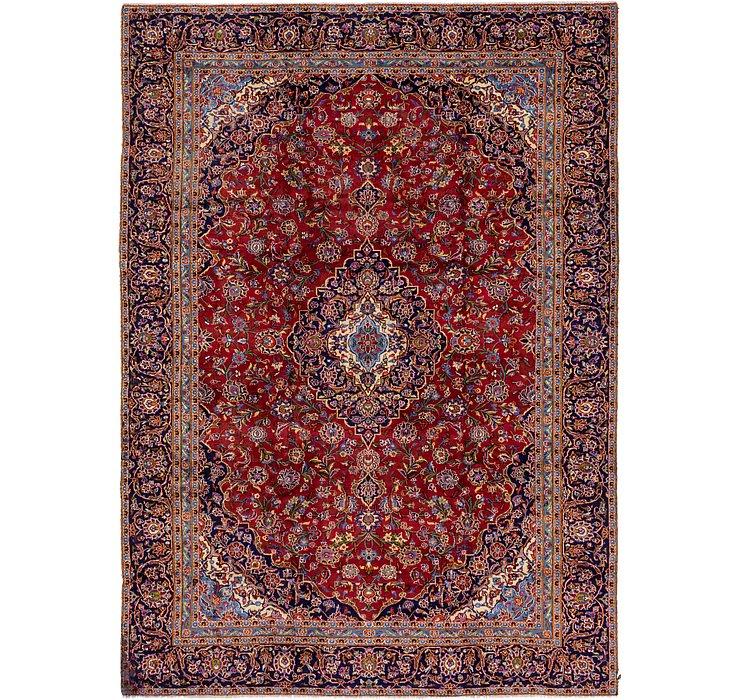 9' x 12' 8 Kashan Persian Rug