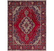 Link to 9' 9 x 12' 9 Tabriz Persian Rug