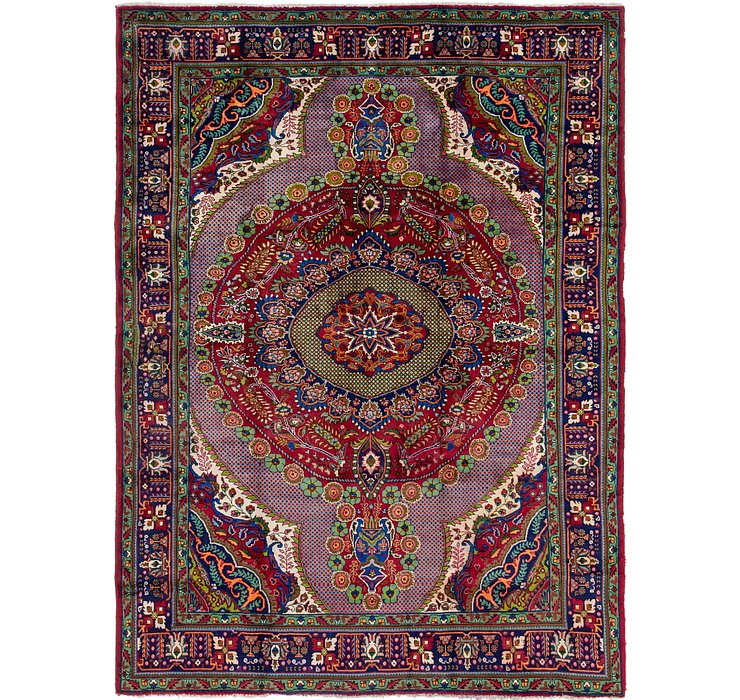 8' 5 x 11' 6 Tabriz Persian Rug