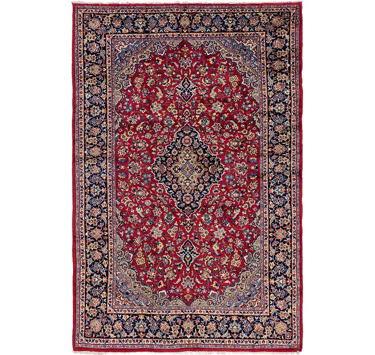 7' 10 x 12' Isfahan Persian Rug