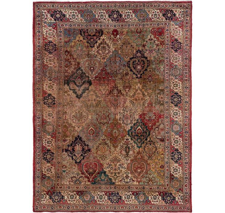9' 4 x 12' 8 Tabriz Persian Rug