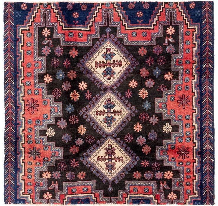 4' x 4' 2 Sanandaj Persian Square...