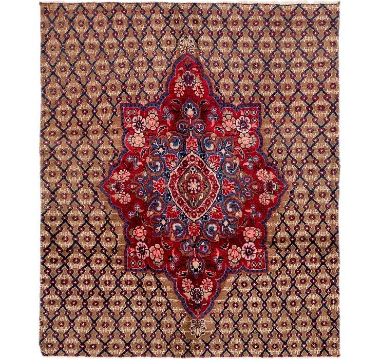 3' 7 x 4' 5 Koliaei Persian Rug