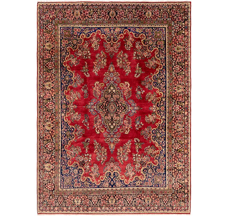 10' x 14' 2 Sarough Persian Rug