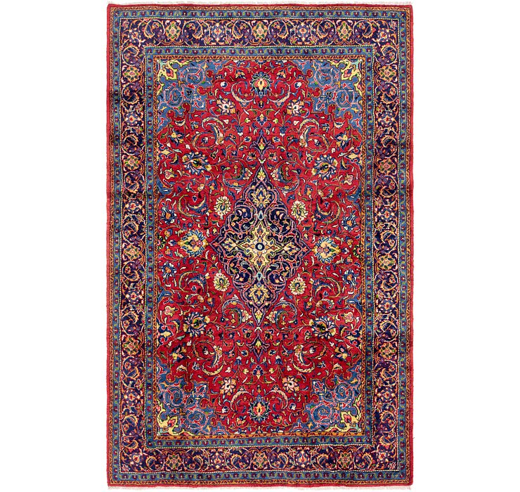 7' 10 x 12' 3 Sarough Persian Rug