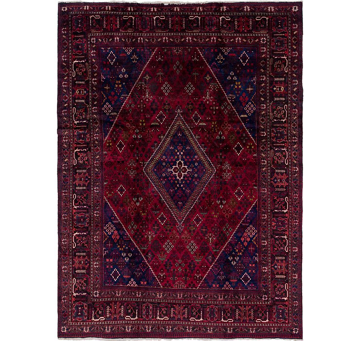 10' x 13' 7 Joshaghan Persian Rug