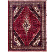 Link to 8' 9 x 11' 8 Hamedan Persian Rug
