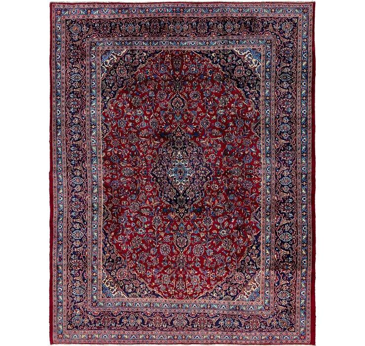 9' 9 x 12' 7 Mashad Persian Rug