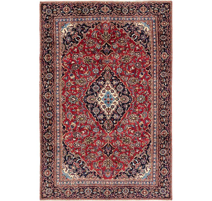 6' x 9' Kashan Persian Rug