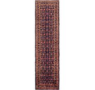 Link to 105cm x 405cm Hossainabad Persian Runner Rug