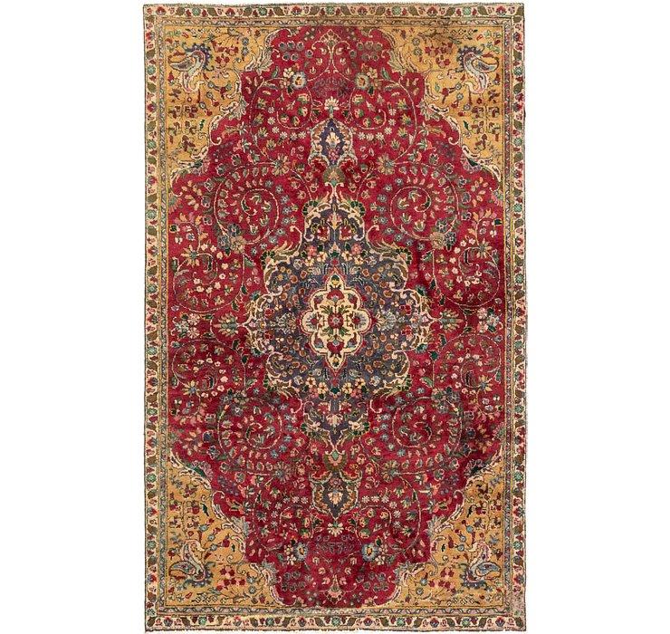 5' x 8' 5 Tabriz Persian Rug