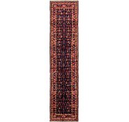 Link to 117cm x 495cm Hossainabad Persian Runner Rug