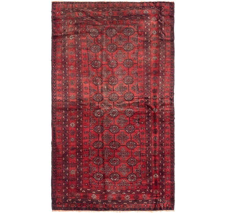 4' x 7' Balouch Persian Rug