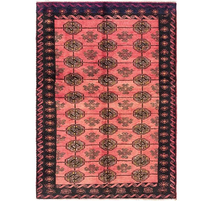 3' 5 x 4' 10 Torkaman Persian Rug